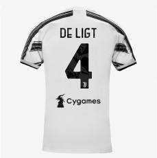 DeLIGT #4 JUV 1:1 Home Fans Soccer Jersey 2020/21 带背下广告