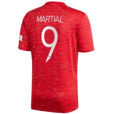 MARTIAL #9 Man Utd 1:1 Home Fans Soccer Jersey 2020/21 UCL Font (欧冠字体)