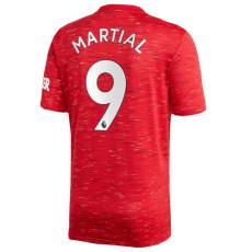 MARTIAL #9  Man Utd 1:1 Home Fans Soccer Jersey 2020/21