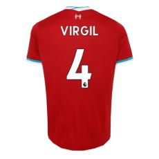 VIRGIL#4 LIV 1:1 Home Fans Soccer Jersey 2020/21