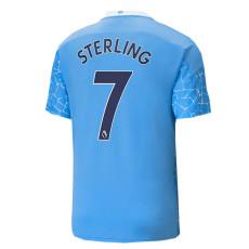 STERLING #7 Man City 1:1 Home Fans Soccer Jersey 2020/21