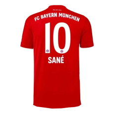 SANE #10 Bayern 1:1 Home Fans Soccer Jersey 2020/21