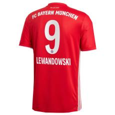 LEWANDOWSKI #9 Bayern 1:1 Home Fans Soccer Jersey 2020/21