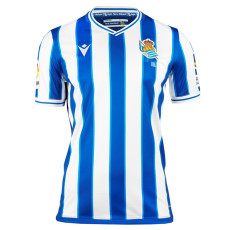 20-21 Real Sociedad Home Fans Soccer Jersey