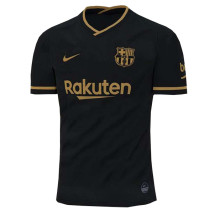 20-21 BAR 1:1 Away Black Fans Soccer Jersey