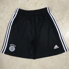 20-21 Bayern Third Black Shorts Pants