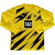 20-21 Dortmund Home Long Sleeve Soccer Jersey