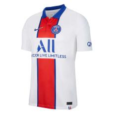 20-21 PSG Paris Away White Fans Soccer Jersey