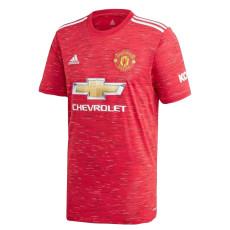 20-21 Man Utd 1:1 Home Fans Soccer Jersey