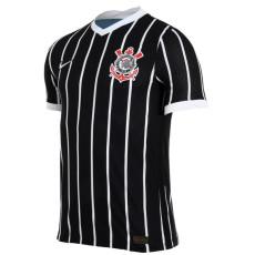 2020 Corinthians Away Black Fans Soccer Jersey