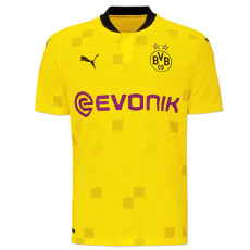 20-21 Dortmund Home Fans Soccer Jersey (Cup Competition Version)
