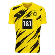 20-21 Dortmund 1:1 Home Fans Soccer Jersey