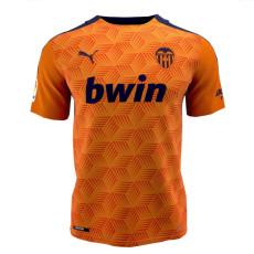 20-21 Valencia Away Fans Soccer Jersey