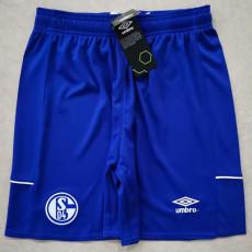 20-21 Schalke 04 Home Blue Shorts Pants