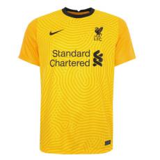 20-21 LIV Yellow Goalkeeper Soccer Jersey