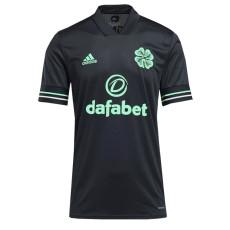 20-21 Celtic Third Black Fans Soccer Jersey