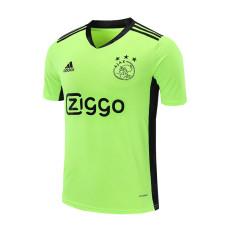 20-21 Ajax Fluorescent Green Goalkeeper Soccer Jersey
