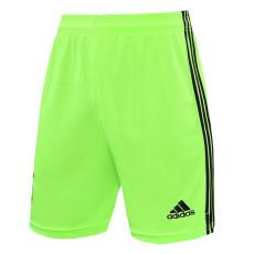 20-21 Ajax Fluorescent Green Goalkeeper Shorts Pants