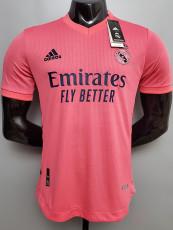 20-21 RMA Away Player Version Soccer Jersey