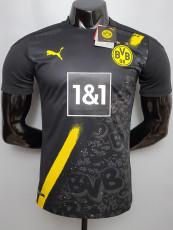 20-21 Dortmund Away Player Version Soccer Jersey