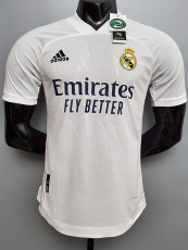 20-21 RMA Home Player Version Soccer Jersey
