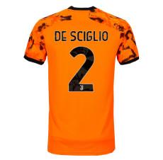 DE SCIGLIO #2 JUV Third Fans Soccer Jersey 2020/21