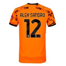 ALEX SANDRO #12 JUV Third Fans Soccer Jersey 2020/21