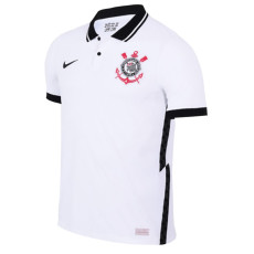 2020 Corinthians 1:1 Home White Fans Soccer Jersey