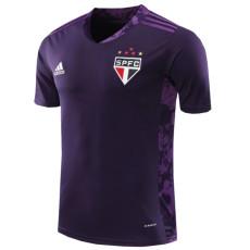 2020 Sao Paulo Purple Goalkeeper Soccer Jersey
