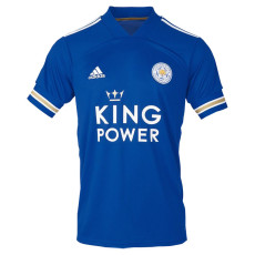 20-21 Leicester City King Power 1:1 Home Fans Soccer Jersey