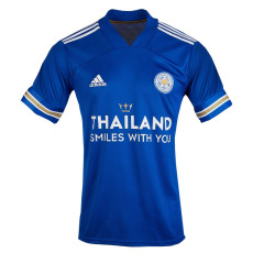 20-21 Leicester City Thailand Smiles With You Home Fans Soccer Jersey