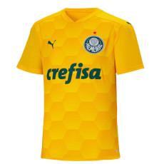 2020 Palmeiras 1:1 GK Yellow Soccer Jersey