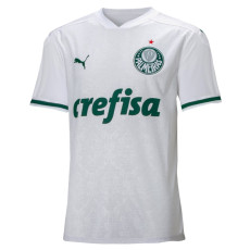 2020 Palmeiras 1:1 Away White Fans Soccer Jersey