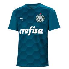 2020 Palmeiras 1:1 GK Blue Soccer Jersey