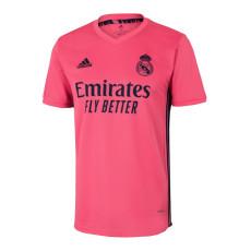 20-21 RMA 1:1 Away Pink Fans Soccer Jersey