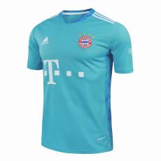20-21 Bayern Light Blue Goalkeeper Soccer Jersey