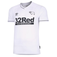 20-21 Derby County Home White Fans Soccer Jersey
