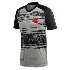 20-21 Bayern Pre Match Grey Jersey