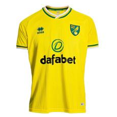 20-21 Norwich Home Fans Soccer Jersey