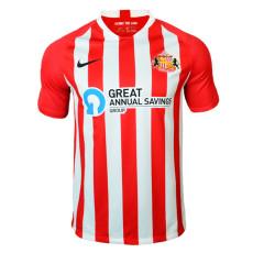 20-21 Sunderland Home Fans Soccer Jersey