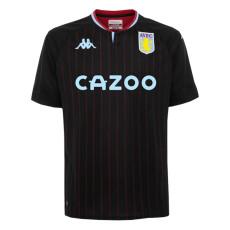 20-21 Aston Villa 1:1 Away Black Fans Soccer Jersey