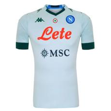 20-21 Napoli Away White Fans Soccer Jersey