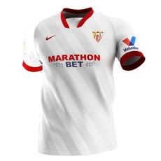 20-21 Sevilla Home Fans Soccer Jersey