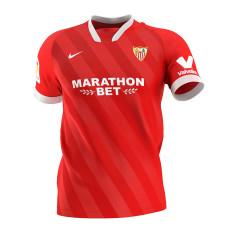 20-21 Sevilla Away Fans Soccer Jersey