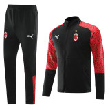 20-21 ACM Red And Black Jacket Tracksuit