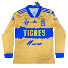 20-21 Tigres UANL Home Long Sleeve Soccer Jersey