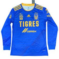20-21 Tigres UANL Away Long Sleeve Soccer Jersey