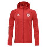 20-21 Bayern Red Windbreaker