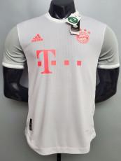 20-21 Bayern Away Player Version Soccer Jersey