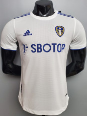 20-21 Leeds United Home Player Version Soccer Jersey
